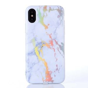 Protective Holo Marble iPhone  case